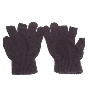 Accessories - NEW Brown Touch Screen Knit Gloves